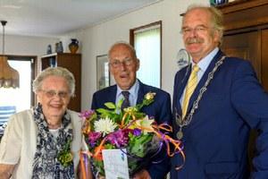 60-jarig huwelijksjubileum Doornbosch-Dijkstra