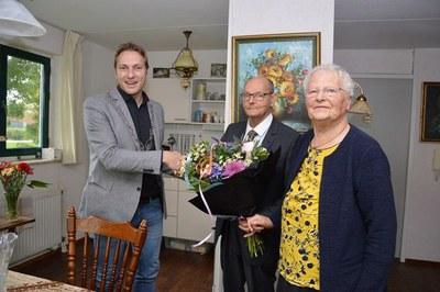 60-jarig huwelijksjubileum Bertus Weijermars en Pia Weijermars-Alkema