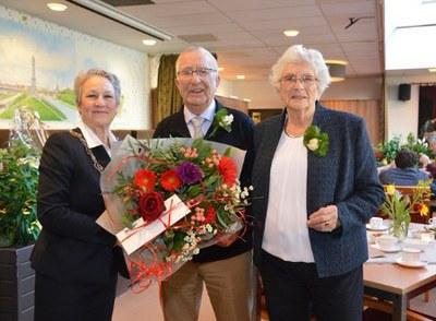 60-jarig huwelijksjubileum Cornelis van der Poel en Ymkje Woudstra