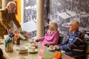 60-jarig huwelijksjubileum de heer en mevrouw Kooi-Zeilmaker
