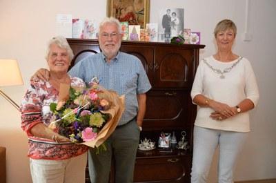 60 jarig huwelijksjubileum Erik de Boer en Paula Kwast