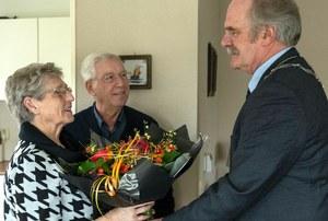60-jarig huwelijksjubileum Henny Dost en Annie Dost-Wiersma