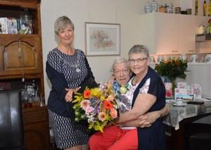 60 jarig huwelijksjubileum Herman Ponte en Bettie Beitsma