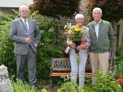 60-jarig huwelijksjubileum Jan Bosga en Ans Glas