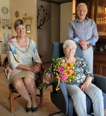 60-jarig huwelijksjubileum N. van der Zee en C. van der Zee-Broersma