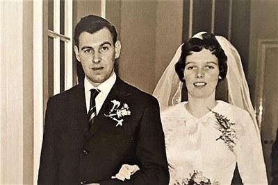 60-jarig huwelijksjubileum Pier Attema en Alie Elsinga