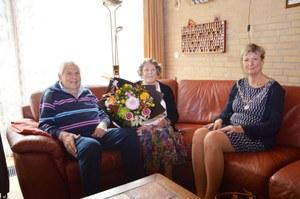 60-jarig huwelijksjubileum Pier Attema en Martje Attema-Kalkhuis