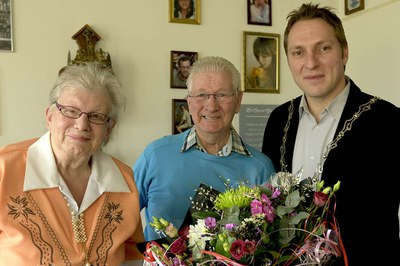 60-jarig huwelijksjubileum Siebe Ruiter en Foekje-Antje Spoelstra