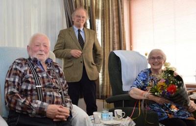 60 jarig huwelijksjubileum Willem Hansma en Tjitske Westra