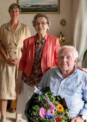65-jarig huwelijksjubileum Geert Kalkhuis en Antje Kalkhuis-Boontje
