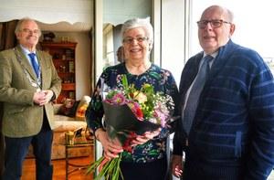 65-jarig huwelijksjubileum Henk Wind en Geertje Jaspers