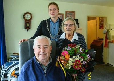 65-jarig huwelijksjubileum Willem Antonie (Wim) Goeman en Anne Louise (Annie) van Antwerpen