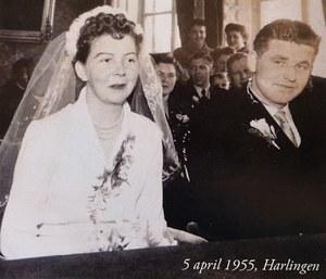 65-jarig huwelijksjubileum Willem Teuben en Tiny Teuben-Ten Brug