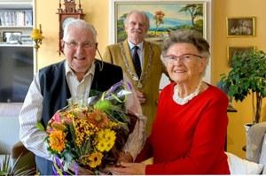 70-jarig huwelijksjubileum Kees Houtman en Theresia Houtman-de Jong