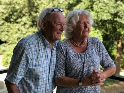 Briljanten bruidspaar de heer Lammert van der Wal en mevrouw Sietske van der Wal-de Vries
