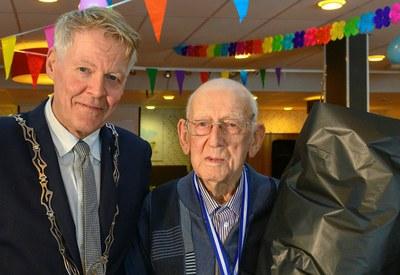 De heer Oepke Smit 100 jaar!