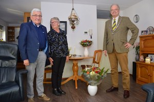 Geert Bijlstra en Aukje Bijlstra-Groeneveld vieren 60-jarig huwelijk