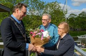 Jancko Piebenga en Annie Piebenga-van der Meij 60 jaar getrouwd