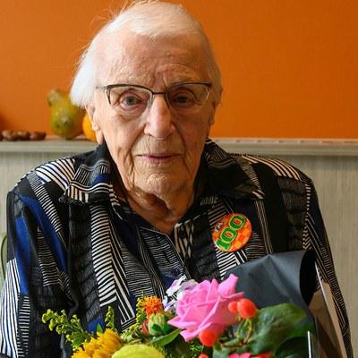 Mevrouw Alie Hoorn 100 jaar!