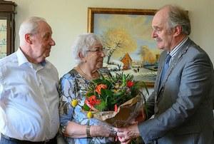 Rienk de Groot en Wilhelmina Andrina van der Sluis 60 jaar getrouwd