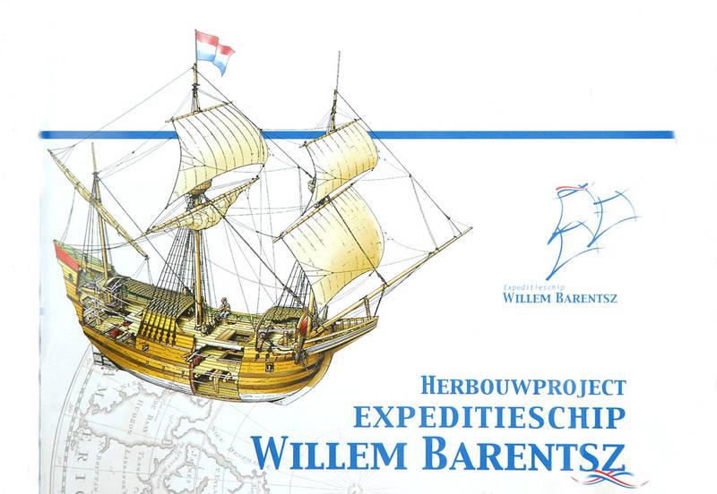 Afbeeldingsresultaat voor te water lating Willem barentsz
